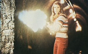 Carrie Fisher Flame Thrower
